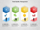 Total Quality Management background PowerPoint Templates