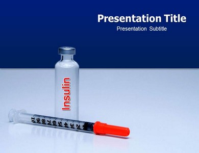 Insulin Powerpoint Templates
