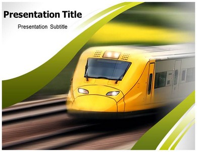 train Powerpoint Templates
