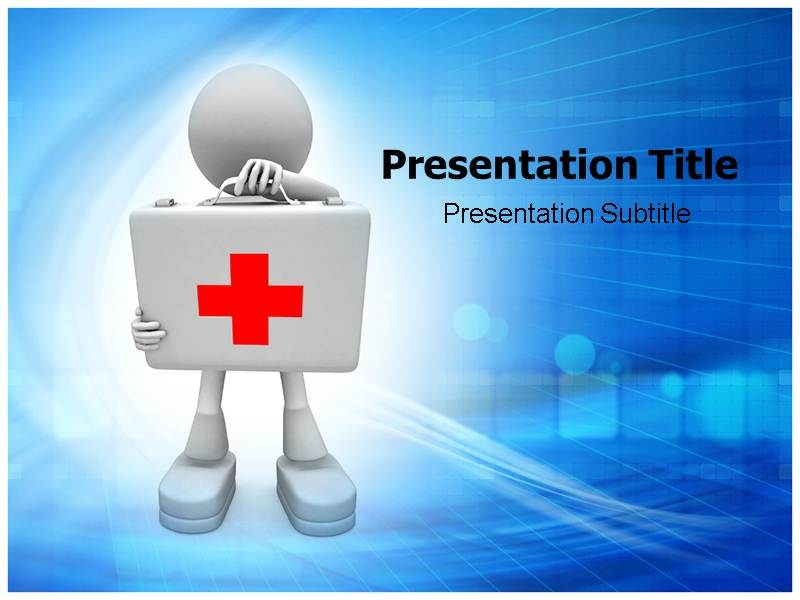 First Aid Powerpointppt Templatesppt Template For First Aid