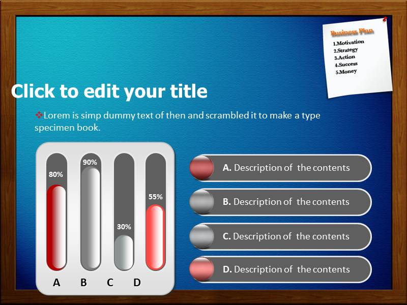 Plan Business Powerpoint Templates