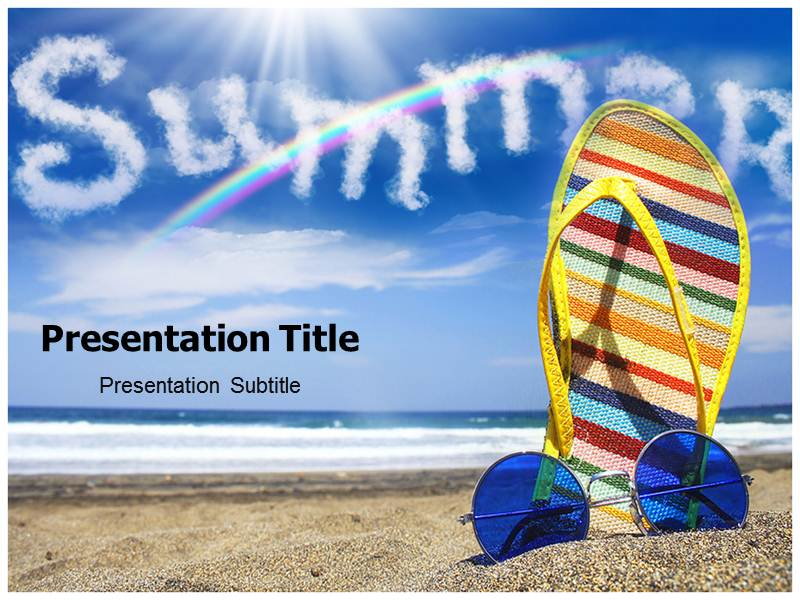 Summer 1 Powerpoint Templates