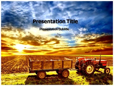 Tractor Powerpoint Templates