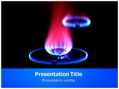 Gas Oven Powerpoint Templates