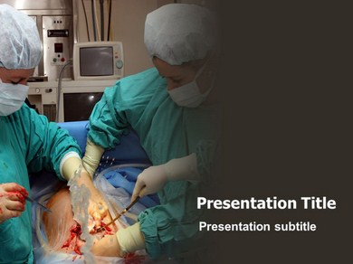 Baby Born Operation Powerpoint Templates