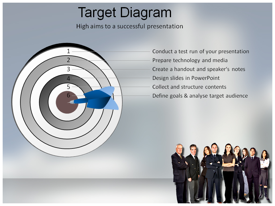 Group and Team Powerpoint Templates