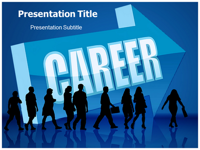 Career Graph Powerpoint Templates