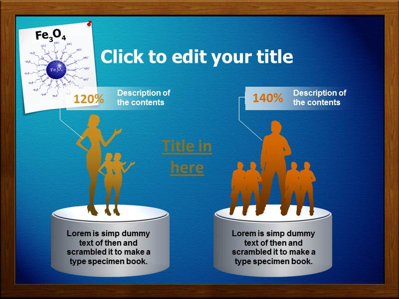 Iron Oxide Nanoparticles Powerpoint Templates