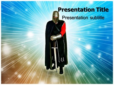 Knight Templer  Powerpoint Templates