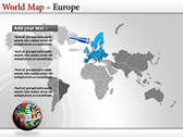 World Map Atlas  ppt templates