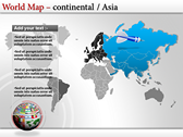 World Map Atlas  powerpoint download