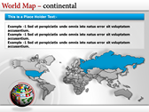 World Map Atlas  powerpoint backgrounds