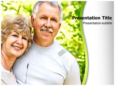 Old People Powerpoint Templates