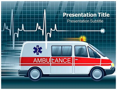 Medical Ambulance Powerpoint Templates