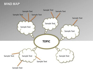 Mind Map Powerpoint Templates