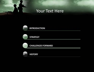 powerpoint templates military image collections - powerpoint, Modern powerpoint