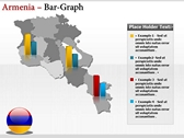 Armenia map  powerpoint backgrounds