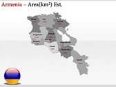 Armenia map  powerpoint download
