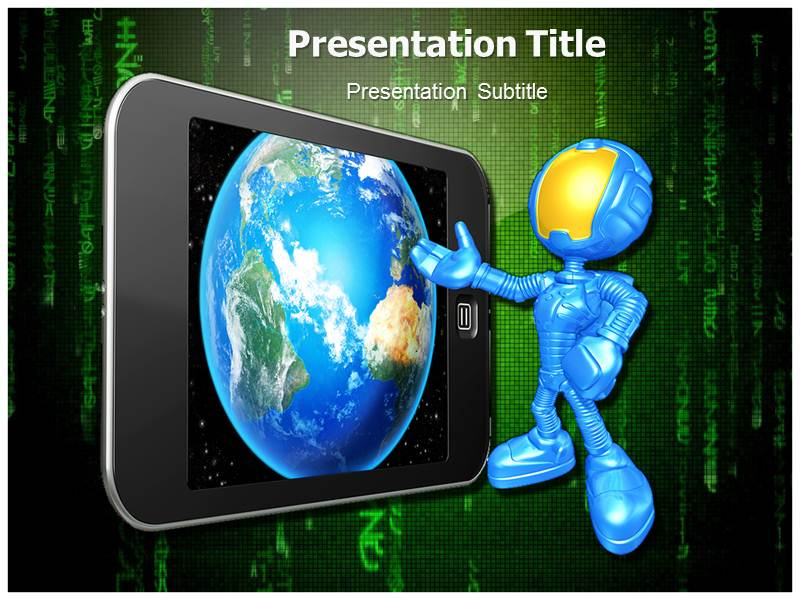 4g Technology Wireless Powerpoint Templates