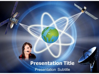 Communication system modeling Powerpoint Templates