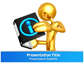 Information Graphics powerPoint template