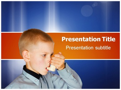 respiratory disorders Powerpoint Templates