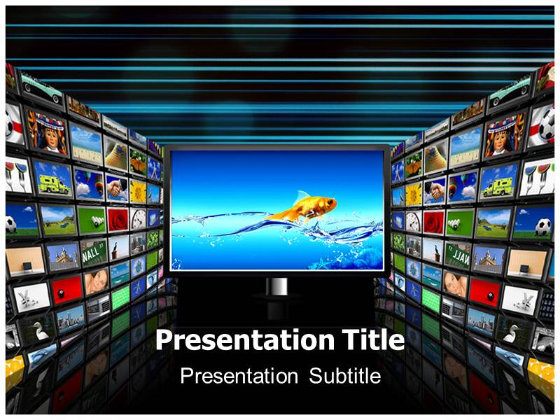 Television live powerpoint ppt templates television powerpoint my toneelgroepblik Gallery