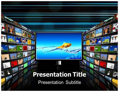 Television Live Powerpoint Ppt Templates Television Powerpoint