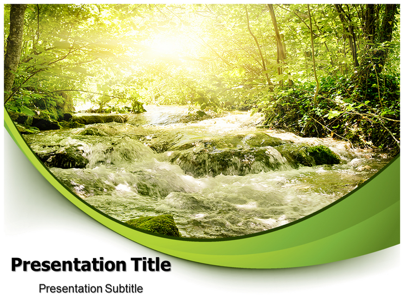 Light in the forest powerpoint template light in the forest ppt download toneelgroepblik Choice Image