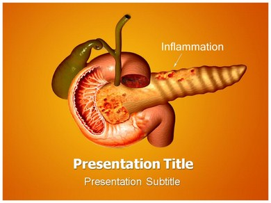 Pancreatitis Pain Powerpoint Templates