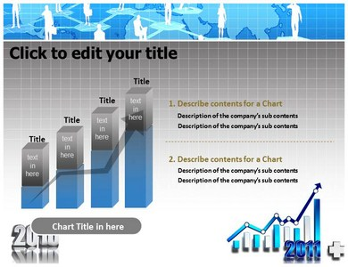 Business Success Graph Powerpoint Templates
