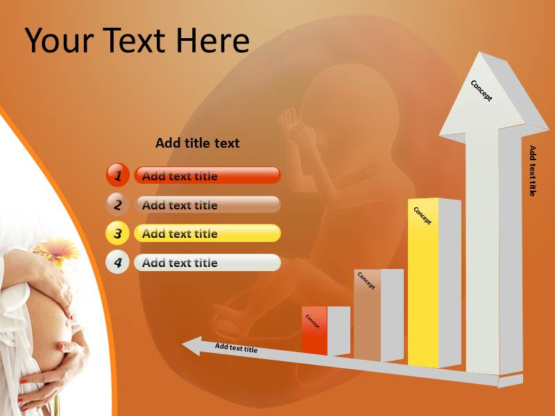 Pregnancy Test  Powerpoint Templates