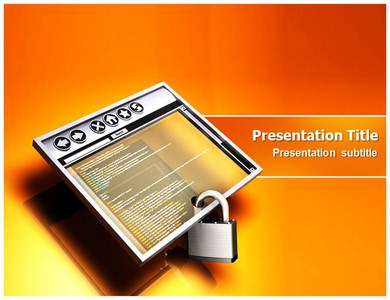 Internet Browser Security Powerpoint Templates