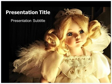 Doll Toy Powerpoint Templates