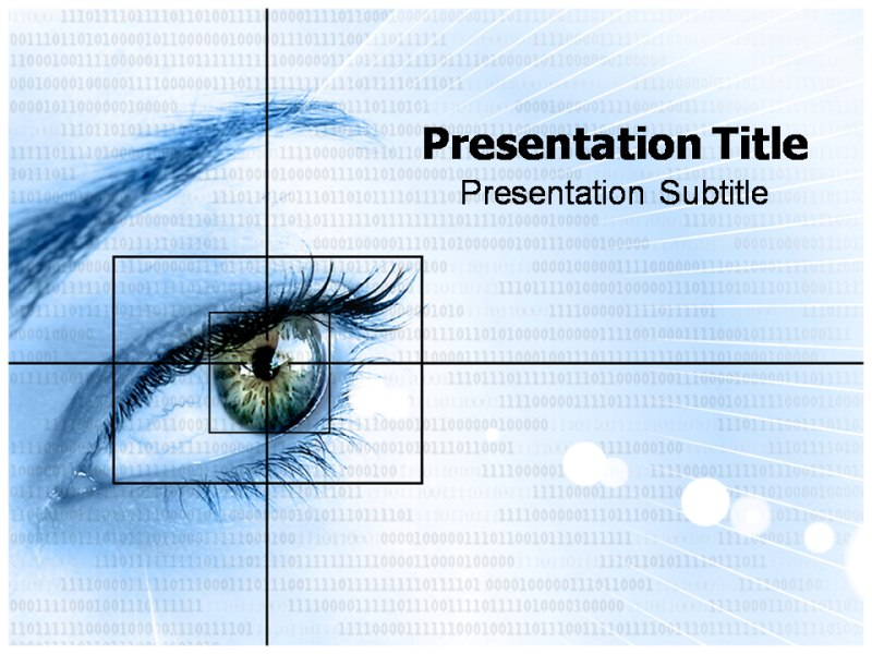 Human Eye Ppt Powerpoint Templates Powerpoint Template On Eye Of