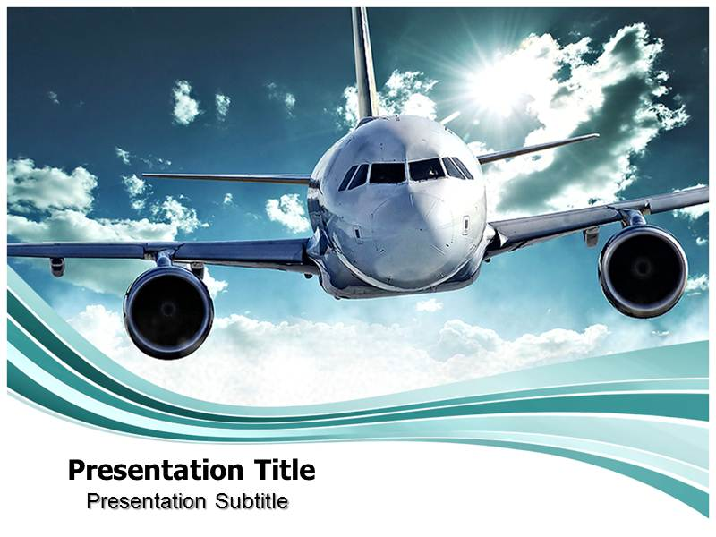 Aerospace powerpointppt template aircraft powerpoint template download toneelgroepblik Choice Image