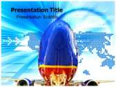 Southwest Airlines Promo powerPoint template