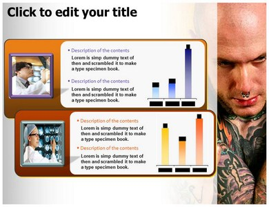 Body Piercing,Tattooing Powerpoint Templates