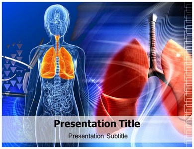 Human Lungs Structure Powerpoint Templates