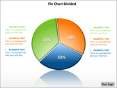 Pie Chart Divided PowerPoint Template powerPoint backgrounds