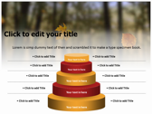 Falling Autumn Leaves powerpoint slides download