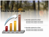 Falling Autumn Leaves download powerpoint themes