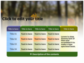 Falling Autumn Leaves pptthemes