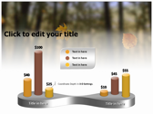 Falling Autumn Leaves powerPoint backgrounds