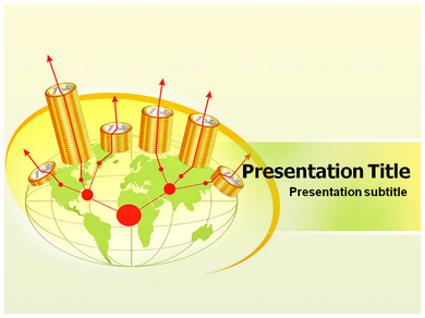 Money Inflation Powerpoint Templates