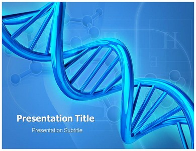 free powerpoint dna genetics templates and backgrounds