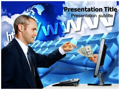 Internet e commerce Powerpoint Templates