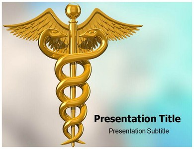 Caduceus Pictures Powerpoint Templates