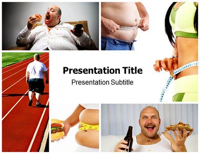 Obesity Help Powerpoint Templates