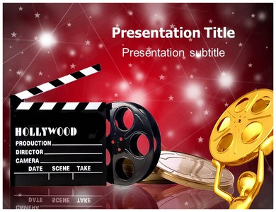Hollywood Films Powerpoint Templates